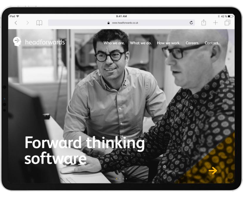 Headforwards Homepage